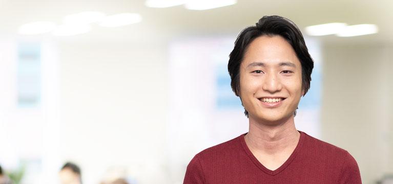 【光学機器】ソフトウェア開発 2018年入社 / 戸田剛暉